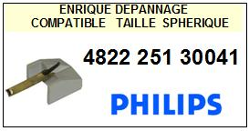 PHILIPS 482225130041 4822-251-30041 <br>Pointe Diamant sphérique (stylus)<small> 2015-11</small>
