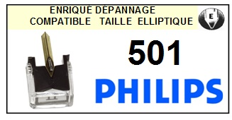PHILIPS 501 <br>Pointe Diamant Elliptique (stylus)<small> 2015-11</small>