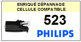 PHILIPS platine 523  Cellule diamant sphérique <BR><SMALL>a 2014-03</small>