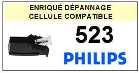 PHILIPS platine 523  Cellule diamant sphérique <BR><SMALL>a 2014-03</small>