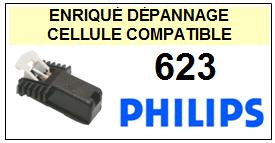 PHILIPS platine  623    Cellule Compatible diamant sphérique