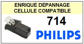 PHILIPS <br>platine 714 Cellule diamant sphérique <br><SMALL>a 2014-10</small>