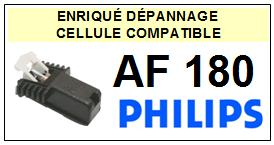 PHILIPS platine AF180 AF-180 Cellule diamant sphérique <SMALL> 13-09</small>