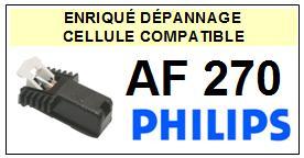 PHILIPS platine AF270 AF-270 Cellule diamant sphérique <SMALL> 13-09</small>
