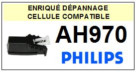 PHILIPS platine AH970  Cellule diamant sphérique <BR><SMALL>a 2014-02</small>