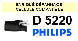 PHILIPS platine D5220 D-5220 Cellule diamant sphérique <BR><SMALL>a 13-12</small>