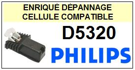 PHILIPS platine D5320  Cellule diamant sphérique <BR><SMALL>a 2014-01</small>