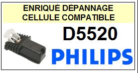 PHILIPS platine D5520  Cellule diamant sphérique <BR><SMALL>a 2014-02</small>