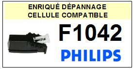 PHILIPS platine F1042  Cellule diamant sphérique <BR><SMALL>a 2014-01</small>