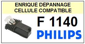 PHILIPS platine F1140  Cellule diamant sphérique <SMALL> 13-07</small>