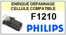 PHILIPS platine  F1210  F-1210  Cellule Compatible diamant sphérique