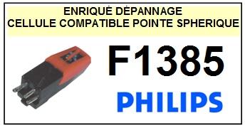 PHILIPS F1385  Cellule diamant Sphérique (<b>cartridge</>)<small> 2016-03</small>