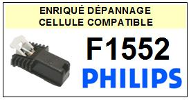 PHILIPS platine F1552  Cellule diamant sphérique <SMALL> 13-08</small>