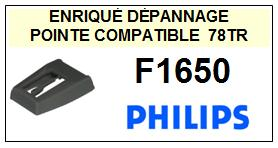PHILIPS-F1650-POINTES-DE-LECTURE-DIAMANTS-SAPHIRS-COMPATIBLES