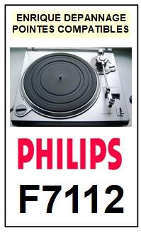 PHILIPS-F7112-POINTES-DE-LECTURE-DIAMANTS-SAPHIRS-COMPATIBLES