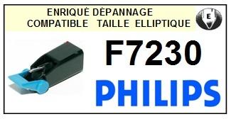 PHILIPS F7230 <BR>Pointe elliptique pour tourne-disques (stylus)<small> 2015-12</small>