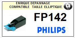 PHILIPS<br> FP142  Pointe (stylus) elliptique pour tourne-disques<SMALL> 2015-09</small>