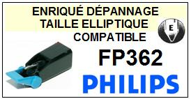 PHILIPS<br> FP362 Pointe (stylus) Diamant Elliptique<small> 2015-09</small>