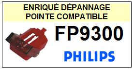 PHILIPS FP9300  <br>Pointe sphérique pour tourne-disques (stylus)<small> 2015-11</small>