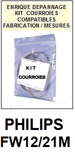 PHILIPS-FW12/21M-COURROIES-ET-KITS-COURROIES-COMPATIBLES