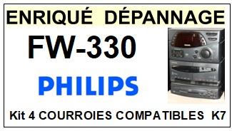PHILIPS-FW330-COURROIES-ET-KITS-COURROIES-COMPATIBLES