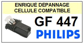 PHILIPS platine GF447  Cellule diamant sphérique <SMALL> 13-06</small>