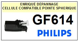 PHILIPS<br> GF614 Cellule (cartridge) pour tourne-disques <BR><SMALL>a 2015-07</small>
