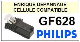 PHILIPS platine  GF628    Cellule Compatible diamant sphérique