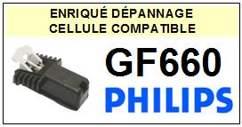 PHILIPS platine GF660 GF-660 Cellule diamant sphérique <SMALL>13-11</small>