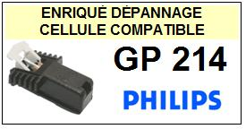 PHILIPS  GP214    Cellule de remplacement  avec diamant Sphérique