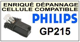PHILIPS GP215  <BR>Cellule diamant Sphérique (<B>cartridge</B>)<small> mars-2017</small>