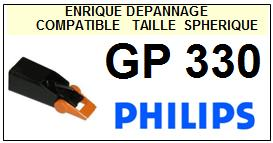 PHILIPS GP330 <br>Pointe Diamant sphérique (stylus)<small> 2015-11</small>
