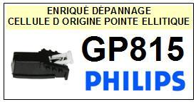 PHILIPS GP815  Cellule avec diamant Sphérique <BR><small>a 2014-08</small>