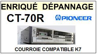 PIONEER-CT70R CT-70R-COURROIES-ET-KITS-COURROIES-COMPATIBLES