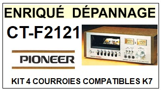 PIONEER-CTF2121 CT-F2121-COURROIES-ET-KITS-COURROIES-COMPATIBLES