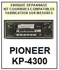 PIONEER-KP4300 KP-4300-COURROIES-ET-KITS-COURROIES-COMPATIBLES