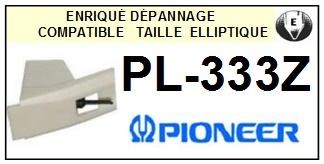 PIONEER PL333Z PL-333Z <bR>Pointe diamant elliptique pour tourne-disques (stylus)<SMALL> 2015-12</small>