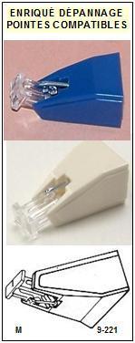 PIONEER<br> PL430 PL-430 Pointe sphérique (stylus) pour tourne-disques<small> 2015-10</small>