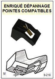 PIONEER<br> PL510A PL-510A Pointe (stylus) sphérique pour tourne-disques <BR><small> 2015-08</small>