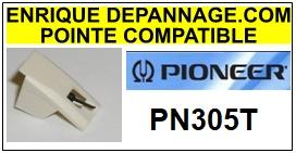 PIONEER-PN305T-POINTES-DE-LECTURE-DIAMANTS-SAPHIRS-COMPATIBLES