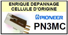 PIONEER  PN3MC  HIGHT OUTPUT MC  Cellule d\' ORIGINE avec diamant