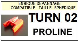 PROLINE-TURN02  TURN-02-POINTES-DE-LECTURE-DIAMANTS-SAPHIRS-COMPATIBLES