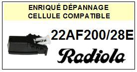 RADIOLA platine 22AF200/28E  Cellule diamant sphérique <BR><SMALL>a 13-12</small>
