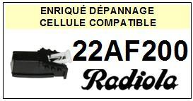 RADIOLA platine 22AF200  Cellule diamant sphérique <BR><SMALL>a 13-12</small>