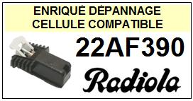 RADIOLA platine  22AF390    Cellule Compatible diamant sphérique