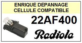 RADIOLA platine  22AF400    Cellule Compatible diamant sphérique