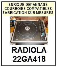 RADIOLA-22GA418-COURROIES-ET-KITS-COURROIES-COMPATIBLES