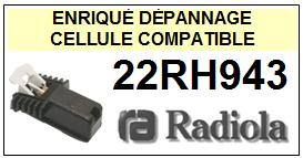 RADIOLA platine 22RH943  Cellule diamant sphérique <SMALL>13-11</small>