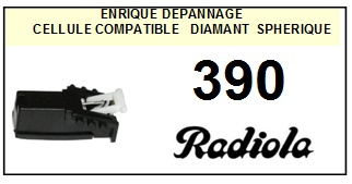 RADIOLA 390  <BR>Cellule  pour tourne-disques (<B>cartridge</B>)<SMALL> 2016-02</small>