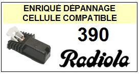 RADIOLA platine  390    Cellule Compatible diamant sphérique